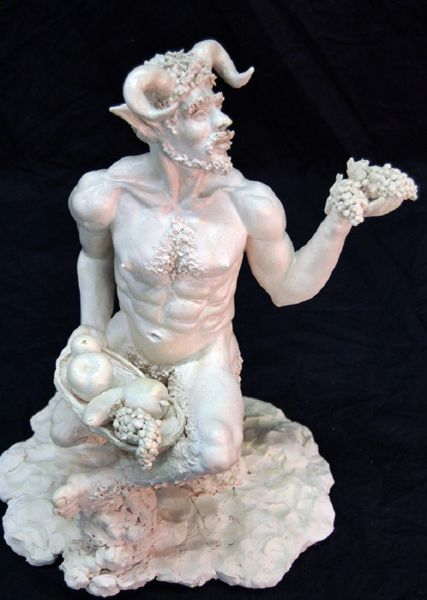 Satyr Offering Fruit