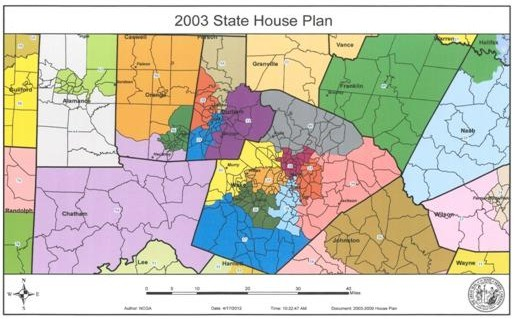 2003 State House Plan