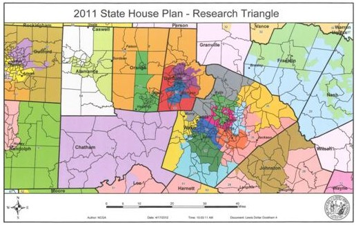 2011 State House Plan - Research Triangle