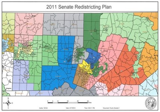 2011 Senate Redistricting Plan