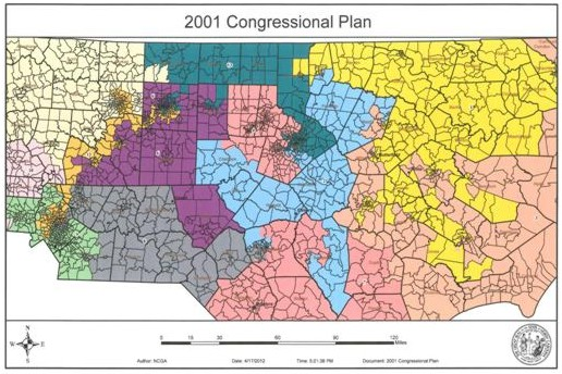2001 Congressional Plan
